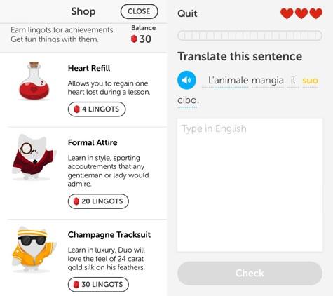 Apps: Duolingo 3.1.1, Google Search 3.2, QR Reader 4.0 + Zagat 2.0 1