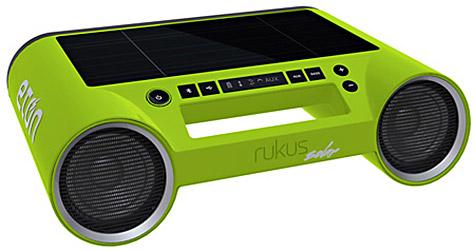 Etón ships Rukus Solar Bluetooth speaker 1