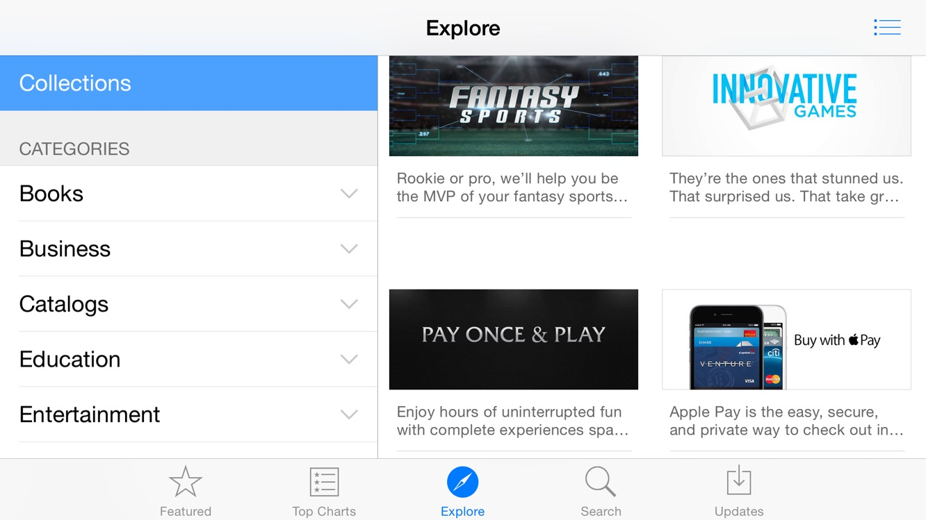 Report: Apple acquisition used for App Store 'Explore' tab