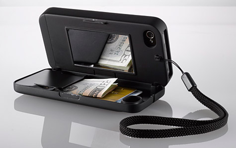 eyn case for iPhone 4/4S merges case with wallet 1