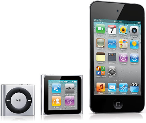 Gallery: Photos of 2010 iPods, Apple TV posted 1