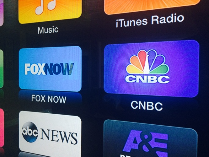 Apple TV adds FOX Now, CNBC channels 1