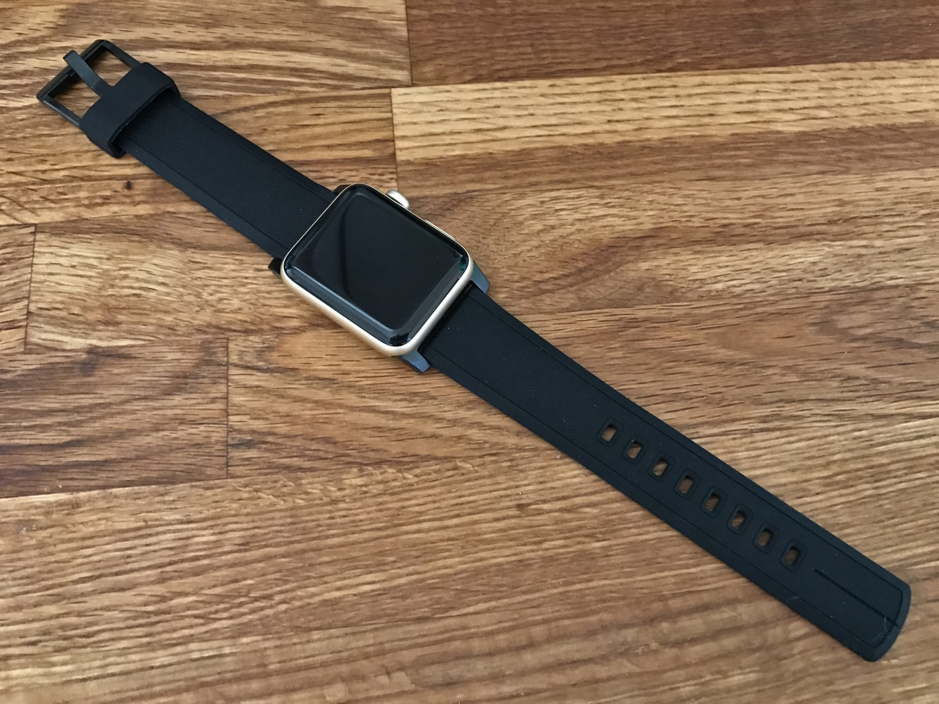 Nomad Vulcanized LSR Silicone Strap for Apple Watch