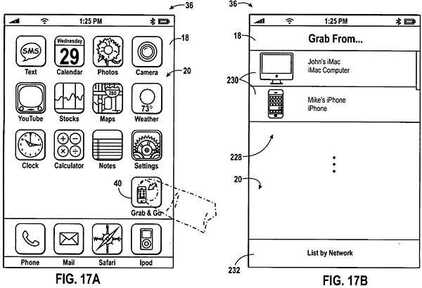 Apple patent points to simplified data sharing