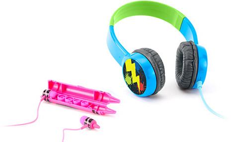 Griffin, Crayola team on kid-focused headphones, cases 1