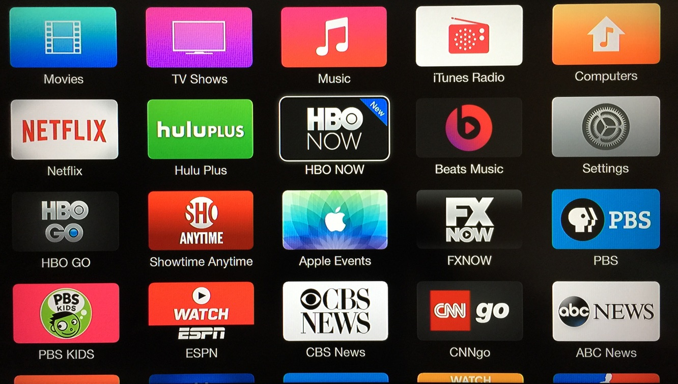 HBO Now channel added to Apple TV (Updated) 1
