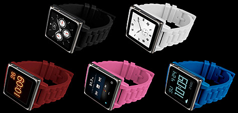 Hex intros Vision Plastic Watch Band for iPod nano 6G 1