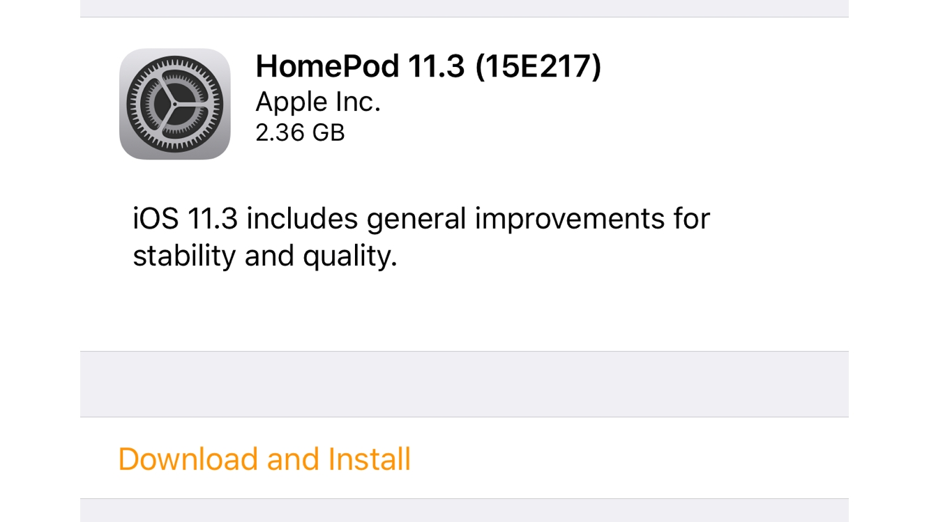 Apple releases first HomePod software update 1
