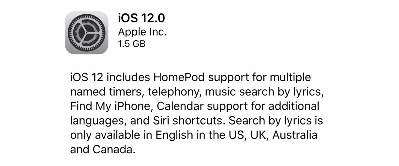 Apple releases iOS 12 for HomePod 1
