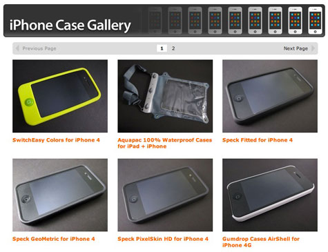 iLounge launches iPhone 4 Case Gallery 1