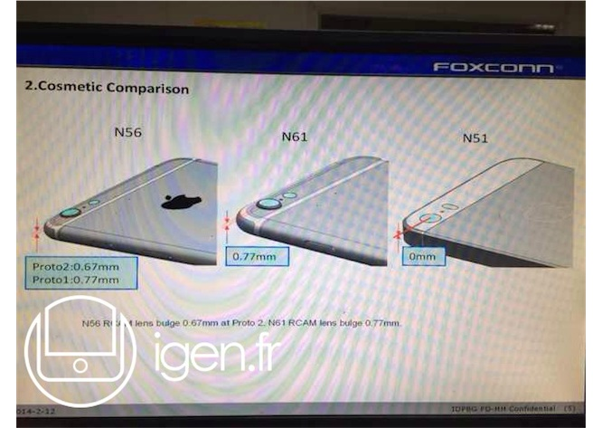 Alleged Foxconn leak reveals iPhone 6 dimensions