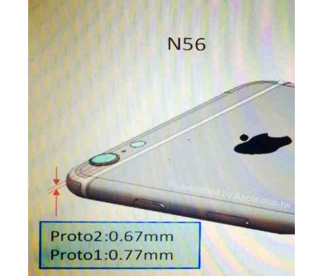 New iPhone 6 schematic leak shows protruding camera lens