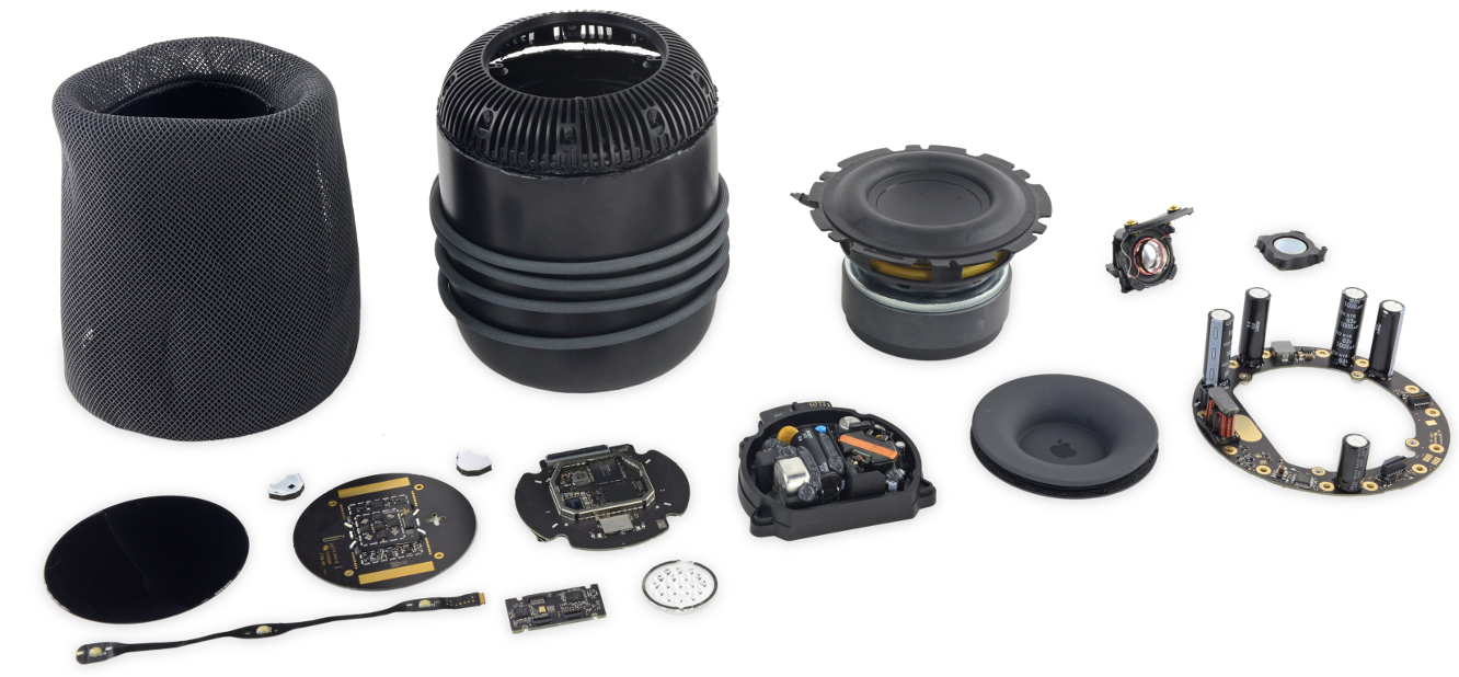 Teardown reveals HomePod isn't very repairable, but is built to last 1