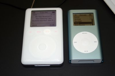 A look at the iPod mini 1