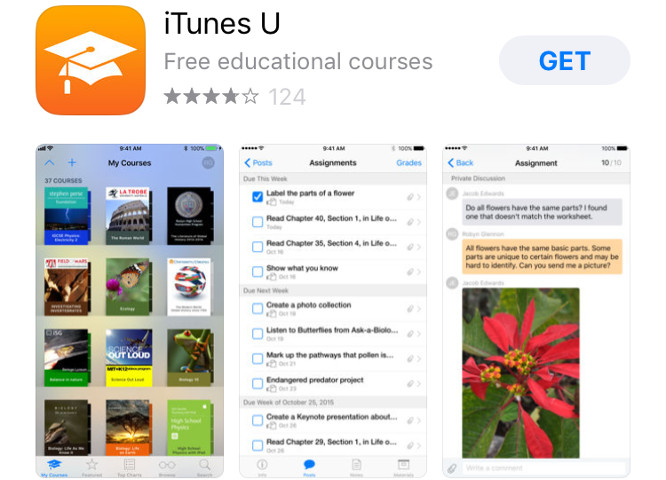 iTunes U app update moves collections to Podcasts app, in line with iTunes changes