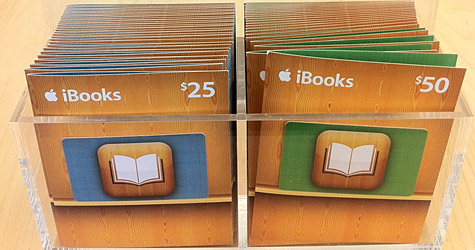 Apple now selling iBooks Gift Cards | iLounge News