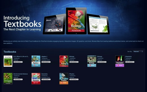 iBookstore adds new Textbook category for interactive textbooks 1