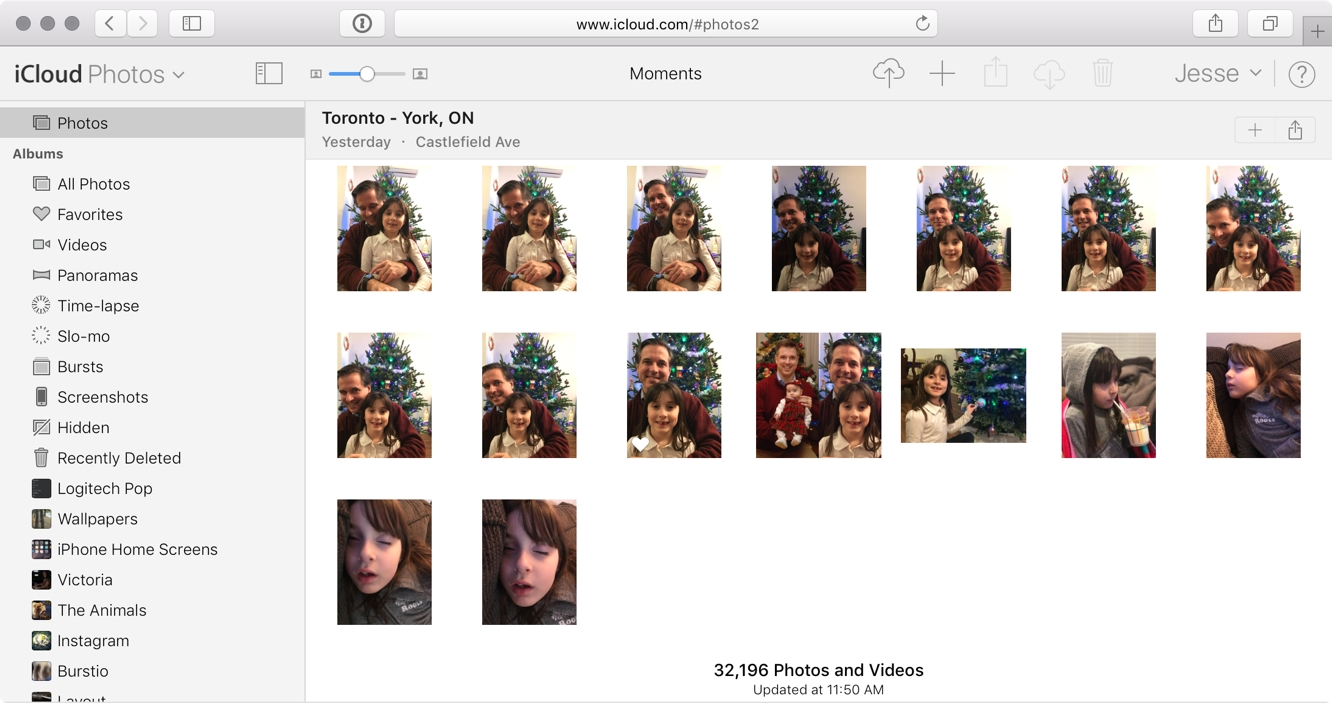 Apple rolls out updated Photos web app at iCloud.com