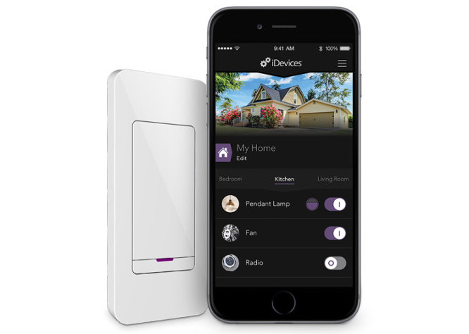 iDevices unveils Instant Switch wall-mounted controller