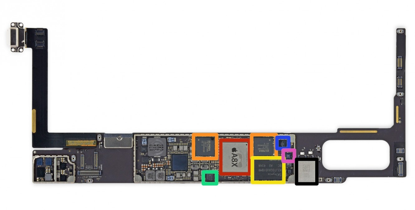 iPad Air 2 NFC chip