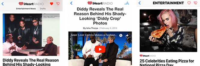 News: iHeartRadio editorial content added to Apple News offering