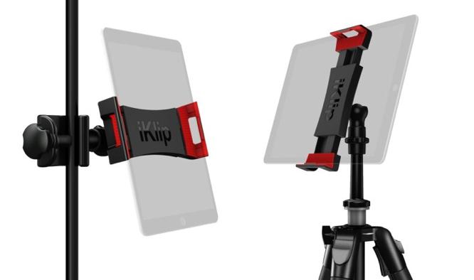 IK Multimedia introduces new iKlip 3 series iPad mounts 1