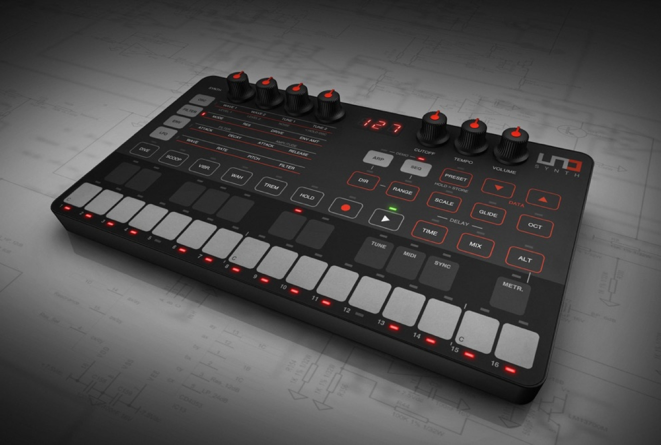 IK Multimedia unveils UNO Synth 1