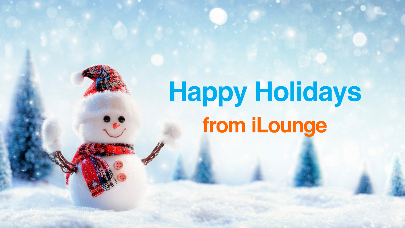 Merry Christmas and Happy Holidays from iLounge 45