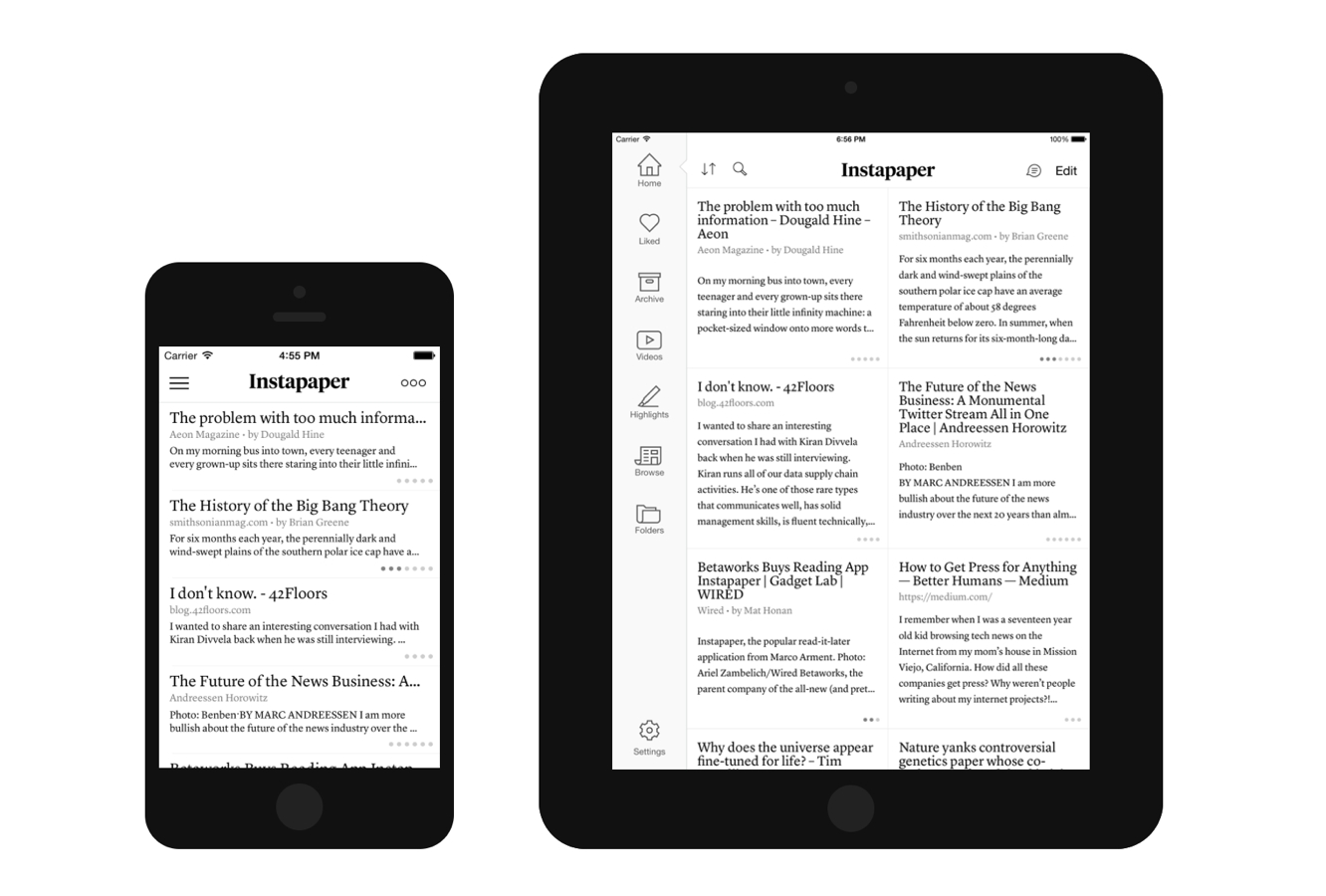 Instapaper parts ways with Pinterest to go it on its own 1
