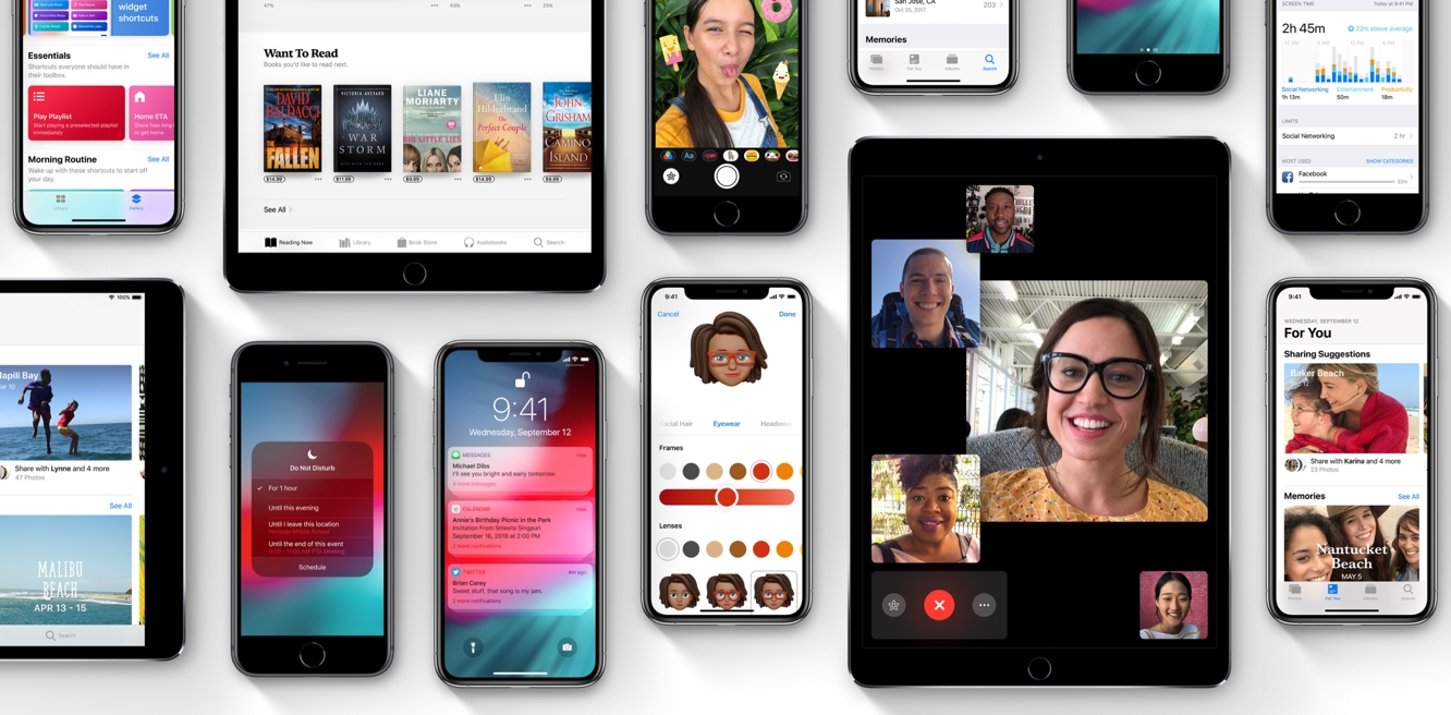 Apple releases iOS 12.1 along with watchOS 5.1, tvOS 12.1, and HomePod 12.1