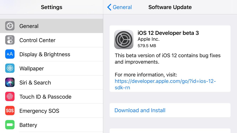 Apple releases third developer betas for iOS 12, tvOS 12 + watchOS 5