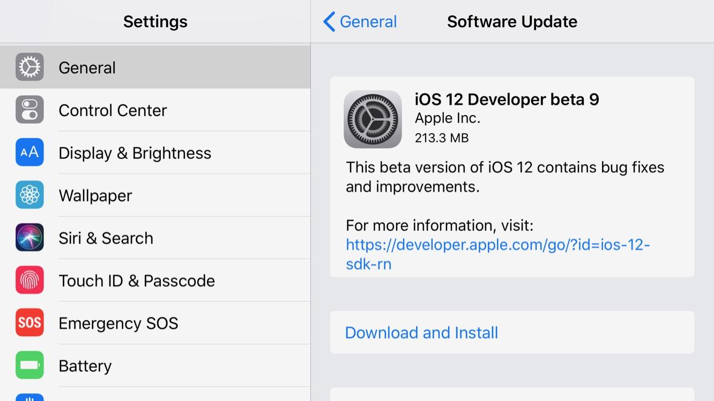 Apple releases iOS 12 beta 9 alongside eighth tvOS 12 + watchOS 5 betas