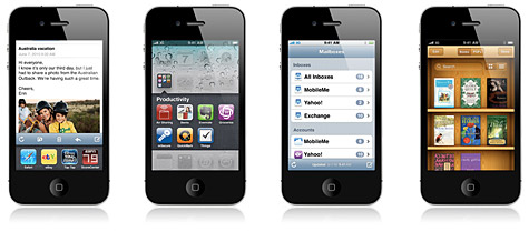 Apple releases iOS 4 for iPhone, iPod touch 1
