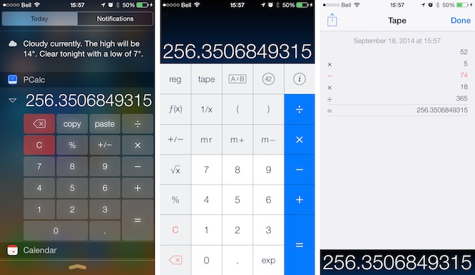 ios8 updates pcalc News: Apps of the Week: Epic Zen Garden, OmniFocus, Evernote, Pocket + more