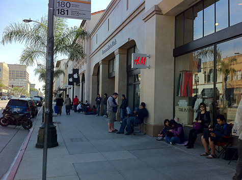 iPad 2 lines forming at Apple retail stores (Updated x2) 1