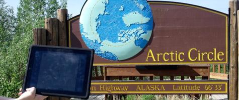 Photo of the Week: iPad in Alaska 1