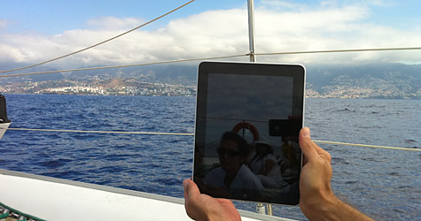 Photo of the Week: iPad in Madeira 1