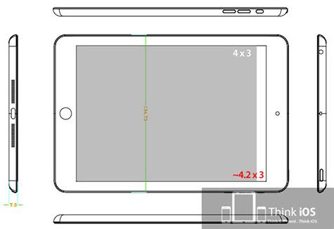 Coordinated 'iPad mini' rumors claim iPod-like thinness, small bezel 1