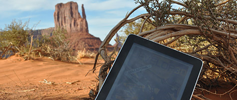 Photo of the Week: iPad in Monument Valley 1