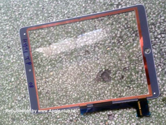 Alleged iPad Air 2 parts leak shows A8X chip, Touch ID 2