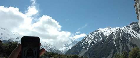 Photo of the Week: iPhone 3G in New Zealand 1