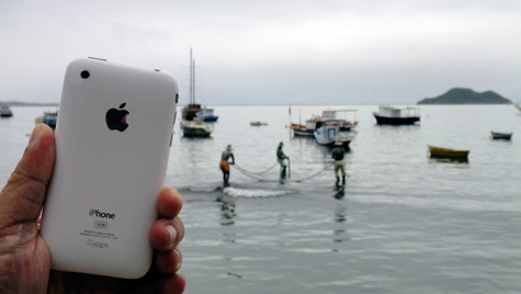 Photo of the Week: iPhone 3GS in Brazil 1