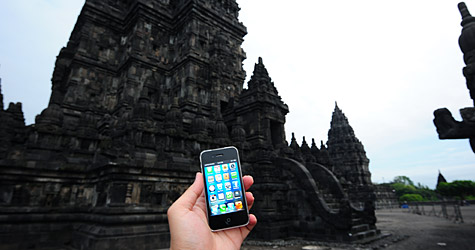 Photo of the Week: iPhone 4 in Indonesia 1