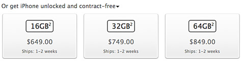 Apple launches sales of unlocked iPhone 4S in U.S. 1