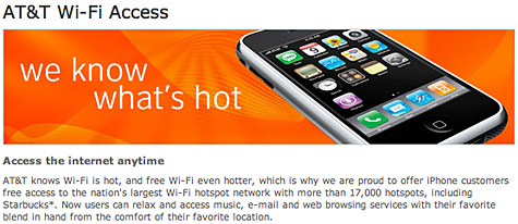 AT&T page lists free Wi-Fi for iPhone users (again) [updated] 1