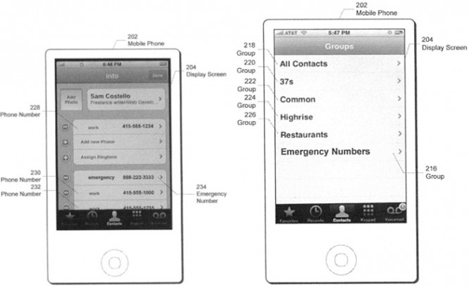 Apple patent points to enhanced emergency calls