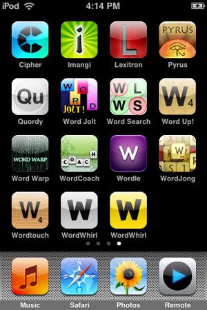 iPhone Gems: Fifteen Word Games, Reviewed 1