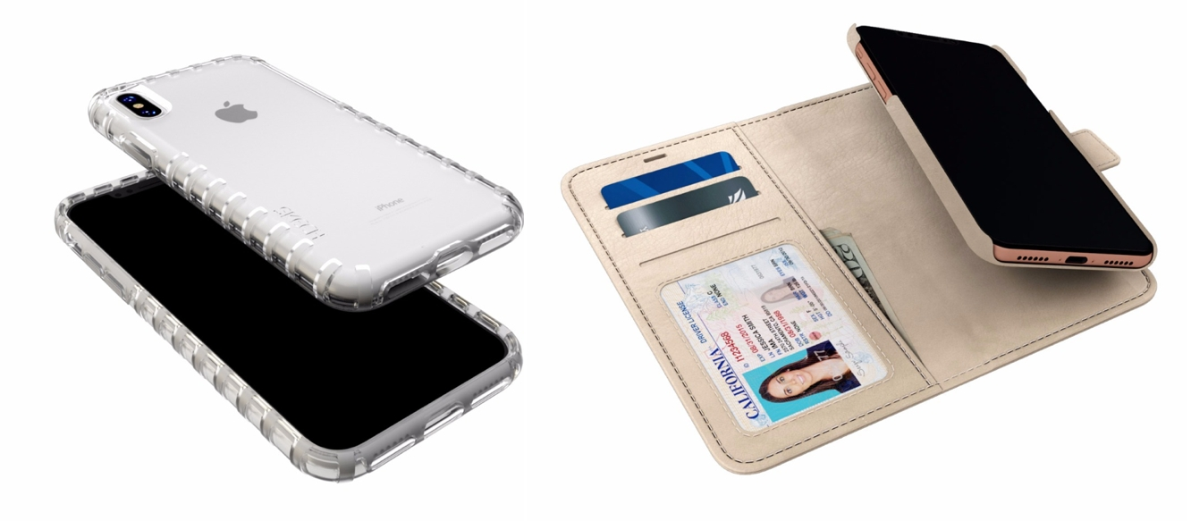 iphone q. silk has updated its entire lineup of smartish cases for the iphone x, including vault slim wallet ($15), q card case ($25), base grip ($12), iphone