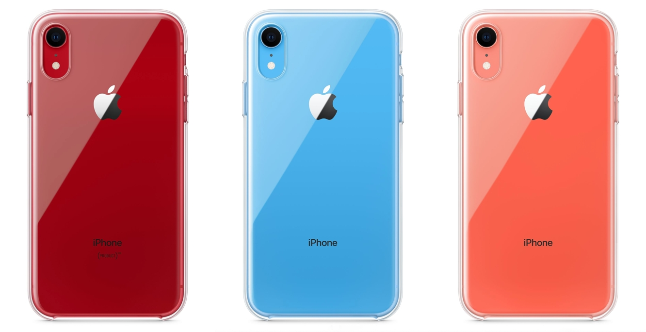 Apple begins selling iPhone XR clear case, 18W USB-C power adapter