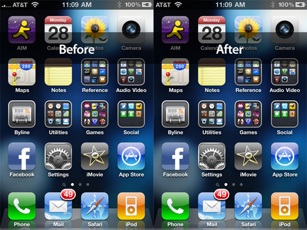 The iOS 4.0.1 iPhone 4 Reception Fix 1